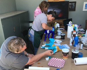 Painting Party at Destination: Art